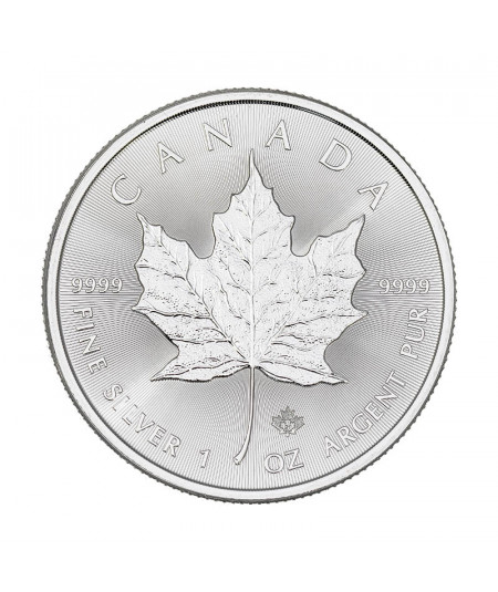 1oz Maple Leaf Silver Coin from 2021