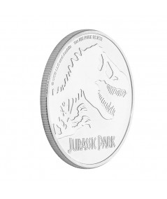 1oz Jurassic Park Silver Coin from 2020