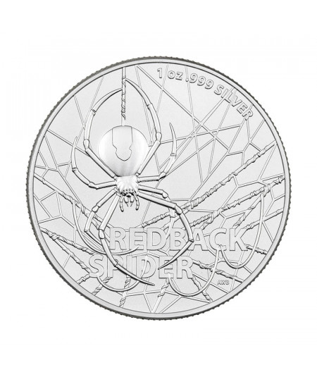 1oz Redback Spider Silver Coin from 2020