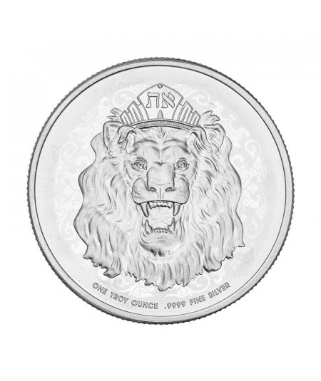 1oz Roaring Lion Silver Coin from 2021