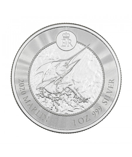 1oz Marlin Silver Coin from 2020