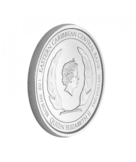 1oz Monserrat Oriole Silver Coin from 2020