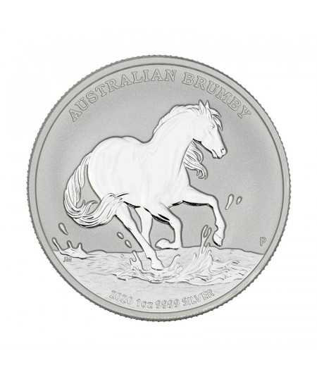 1oz Australian Brumby Horse Silver Coin from 2020