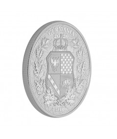1oz Italia & Germania Silver Coin from 2020 - The Allegories serie