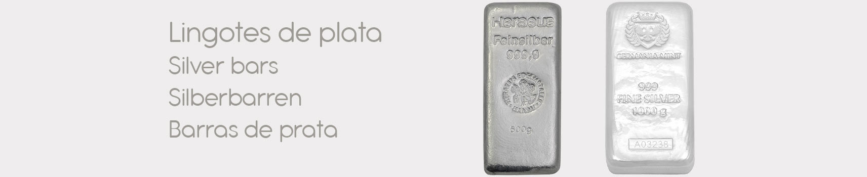 Large Silver Bars