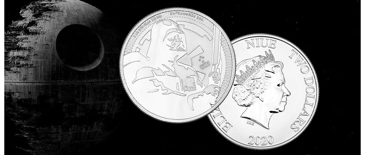 A galactic coin collection for Star Wars fans