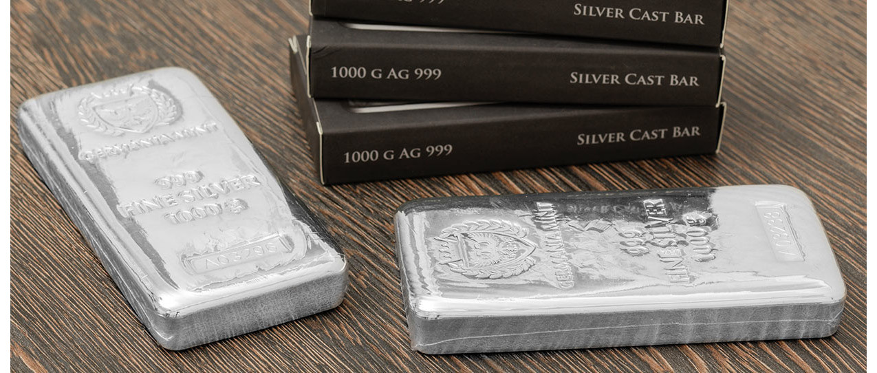 Buying gold and silver bars to beat uncertainty